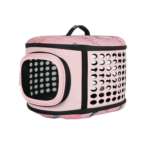 Eva Pet Carrier (Pink)
