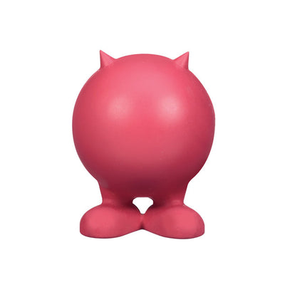Bad Cuz Rubber Dog Toy (JW Pet) - Little Cherry