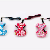 Floral Harness (Red) - Little Cherry