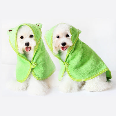 Green Towel - Little Cherry