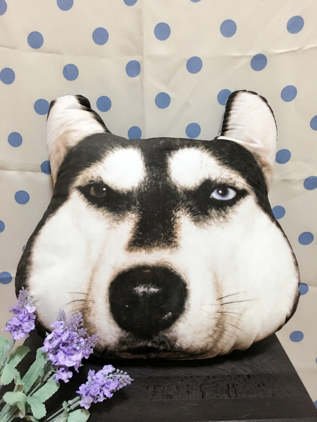 Husky Pillow - Little Cherry