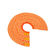 Cute Ecollar Orange Polka Dot - Little Cherry