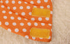 Cute Ecollar Orange Polka Dot