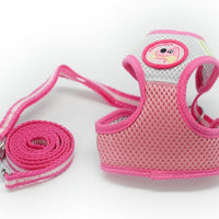 Mesh Vest Dog Harness - Little Cherry