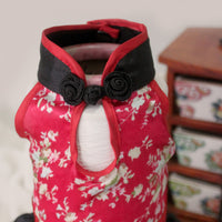 Origami Cheongsam in Red - Little Cherry