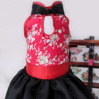 Origami Cheongsam in Red
