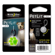 Nite Ize PetLit LED Collar Light - Little Cherry