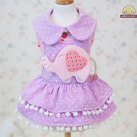 Violleta Elephant Dress - Little Cherry