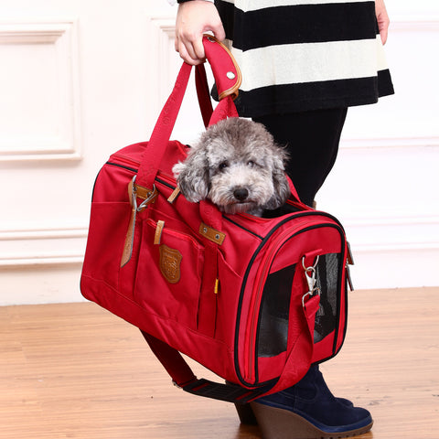 James Pet Carrier (Red)