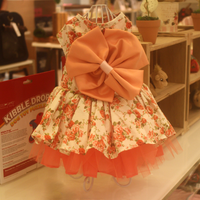Thalia Ribbon Dress - Little Cherry