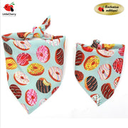 Donut Doggies adjustable Bib - Little Cherry