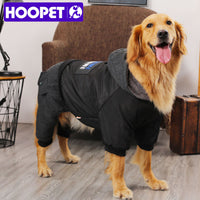 HOOPET - Dog in Black Coat