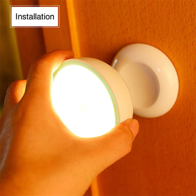 USB Rechargeable Motion Sensor Activated Wall Light