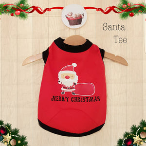 Santa Tee - Little Cherry
