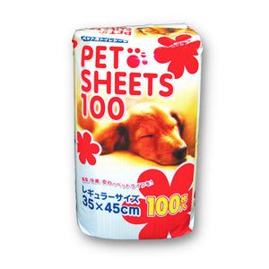 Bow Pad Disposable Pee Pad (100 Sheets) - Little Cherry