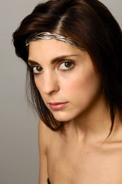 EVA SCRIVO Braided Ballerina Hairband