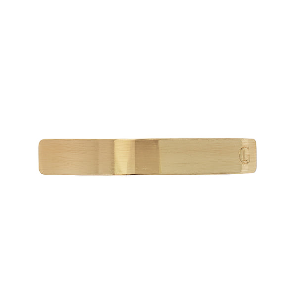 Gold Barrette by Leonor Greyl