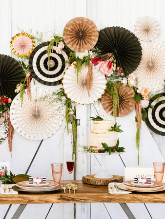 Best Ways To Display Your Party Fans!