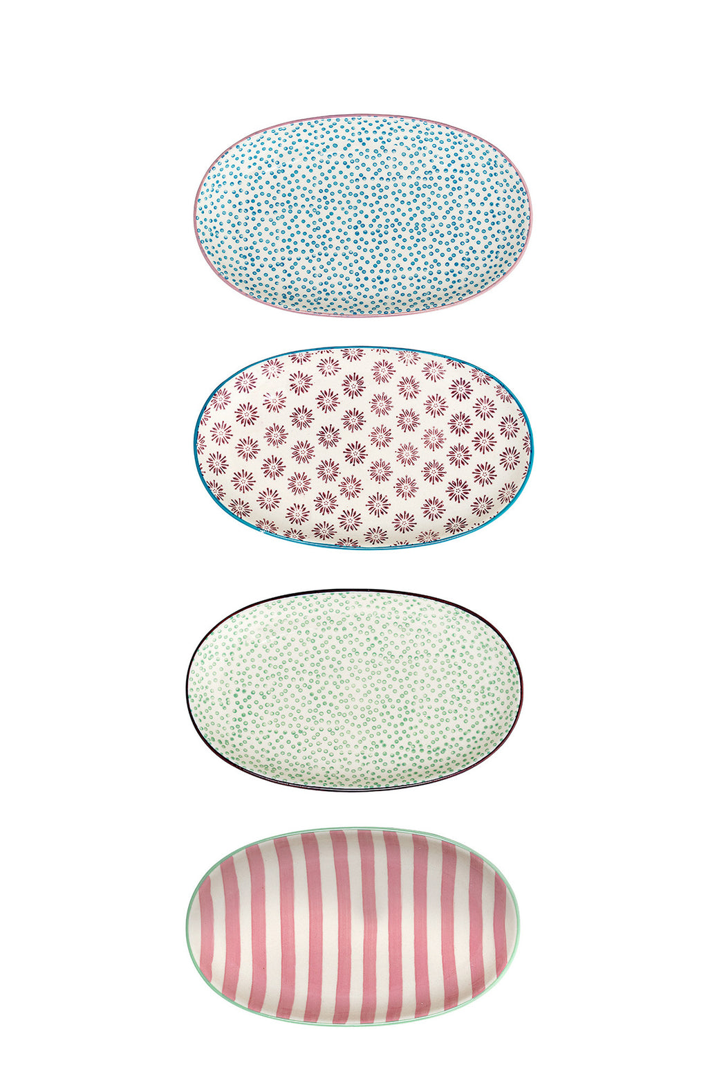 Patrizia Oval Plate, Dining, Bloomingville - 3LittlePicks