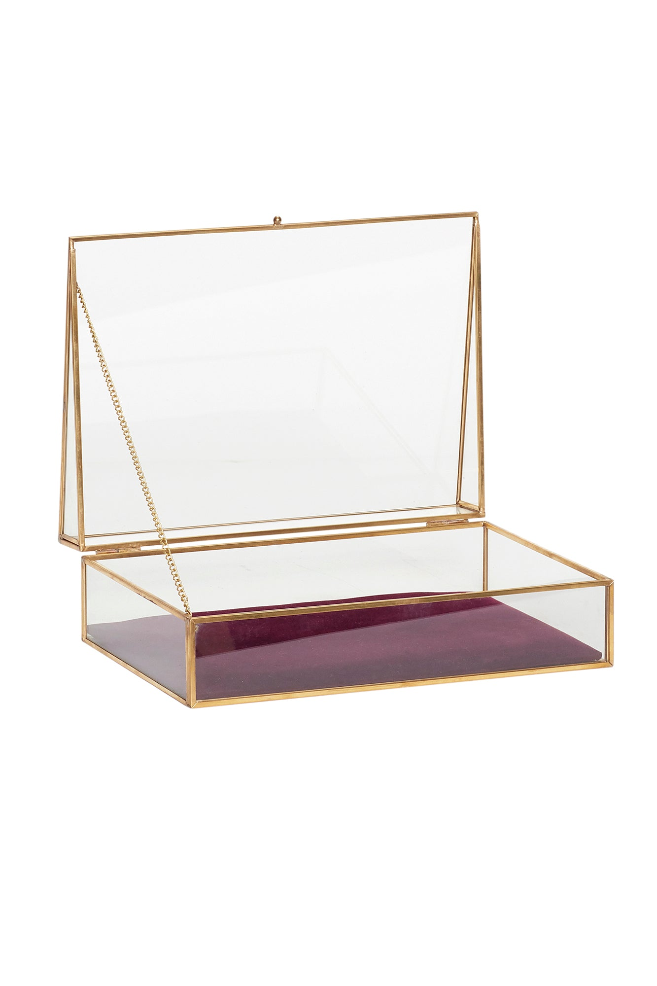 Glass Jewellery Box, Organizer, Hübsch - 3LittlePicks