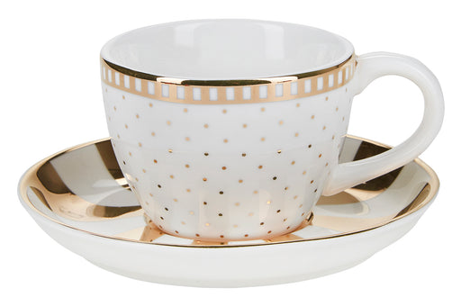 Golden Polka Espresso, Drinkware, Miss Etoile - 3LittlePicks