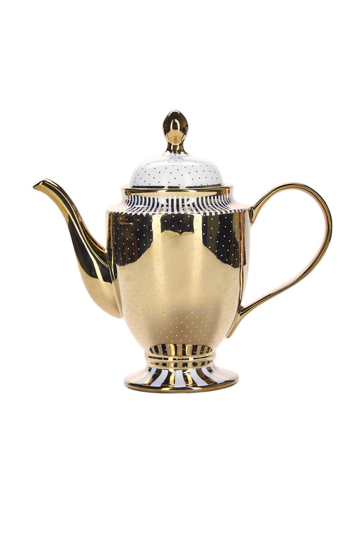 Elegant Golden Tall Teapot, Drinkware, Miss Etoile - 3LittlePicks