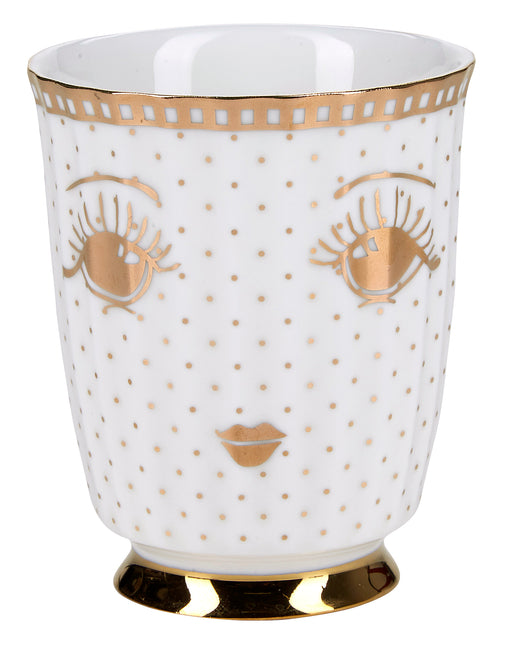 Golden Open Eyes Coffee Mug, Drinkware, Miss Etoile - 3LittlePicks