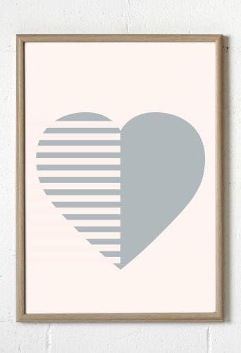 Stripey Heart Blush, Decor, Sprout and Sparrow - 3LittlePicks