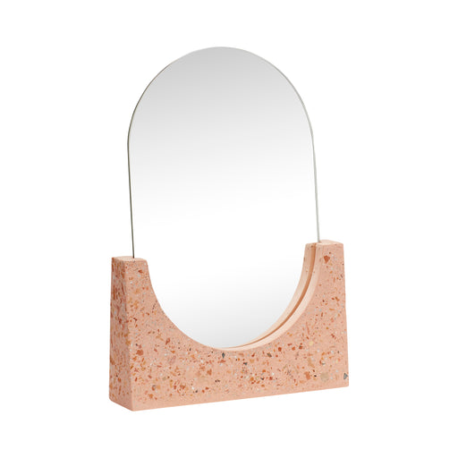 Rose Brown Terrazzo Base Mirror, Lifestyle, Hübsch - 3LittlePicks