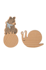 Bear And Snail, Clothes Hanger, Bloomingville - 3LittlePicks