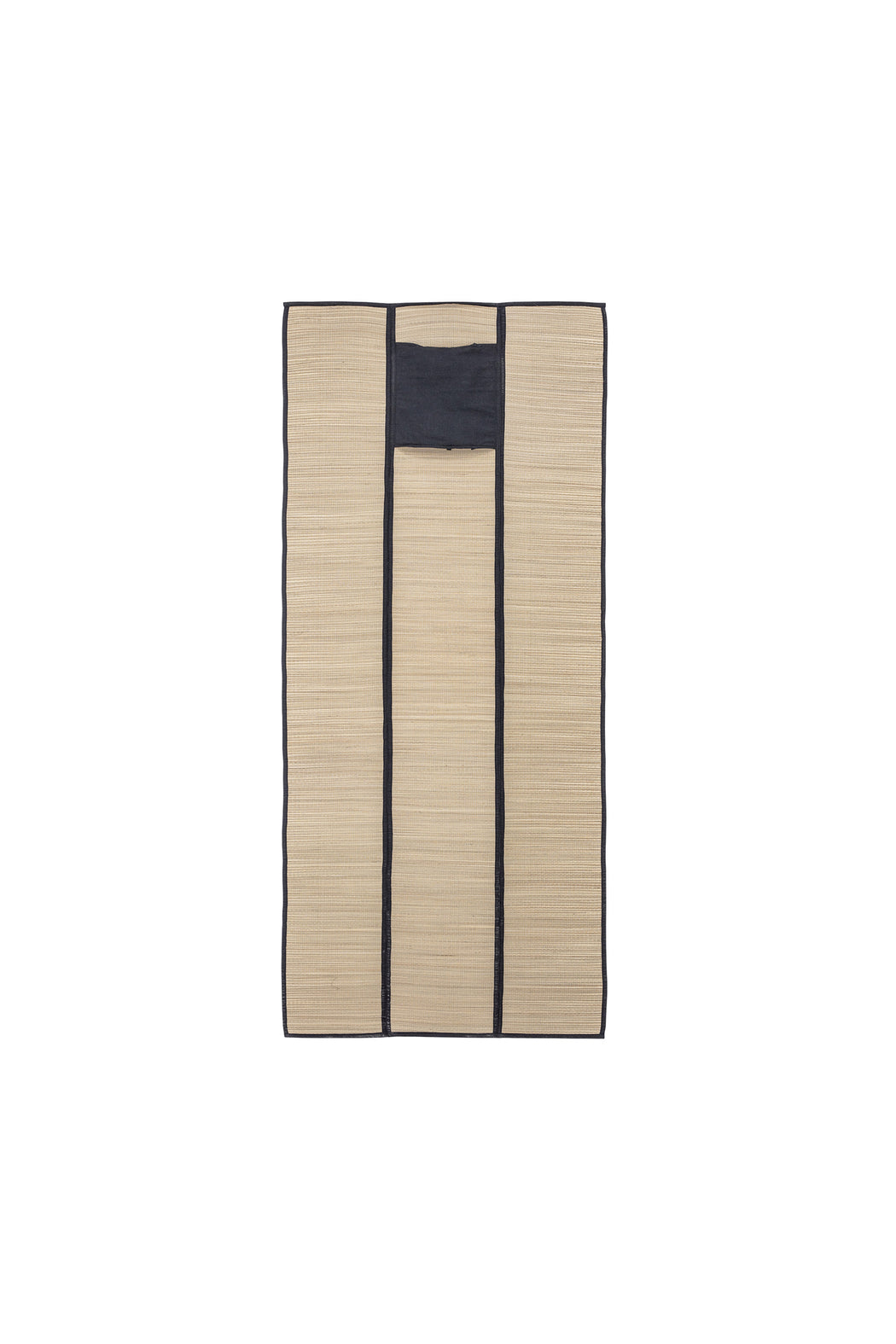Seagrass Beach Mat Black