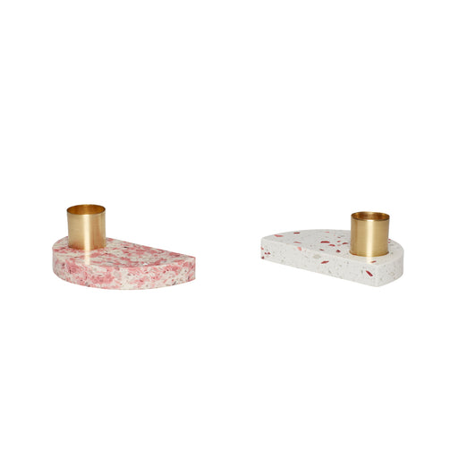 Terrazzo Candlestick Holders, Lifestyle, Hübsch - 3LittlePicks
