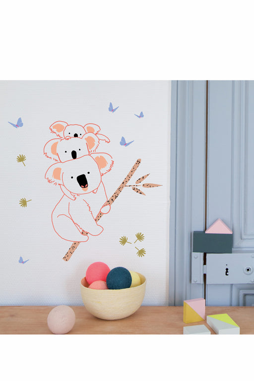Koala Family Vinyl Stickers, Decor, MIMI' lou - 3LittlePicks
