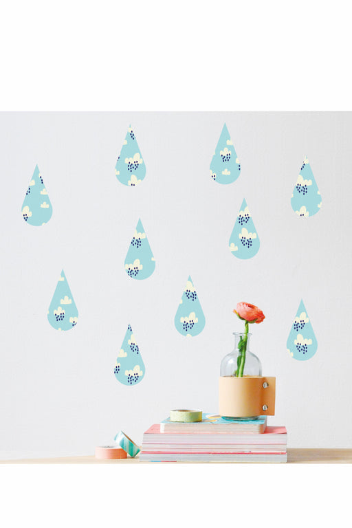 Drops Vinyl Stickers, Decor, MIMI' lou - 3LittlePicks