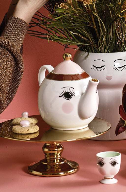 Open Eyes Teapot, Serveware, Miss Etoile - 3LittlePicks