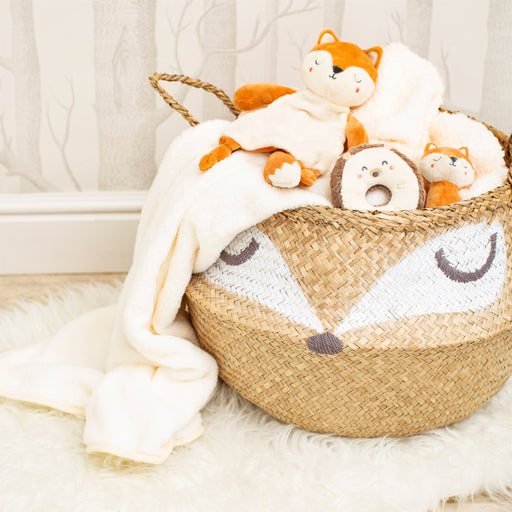 Woodland Fox Basket, Decor, Sass & Belle - 3LittlePicks