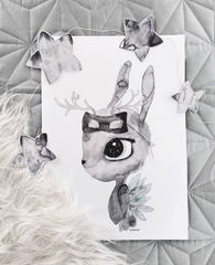 Deer, Decor, By Christine Hoel - 3LittlePicks