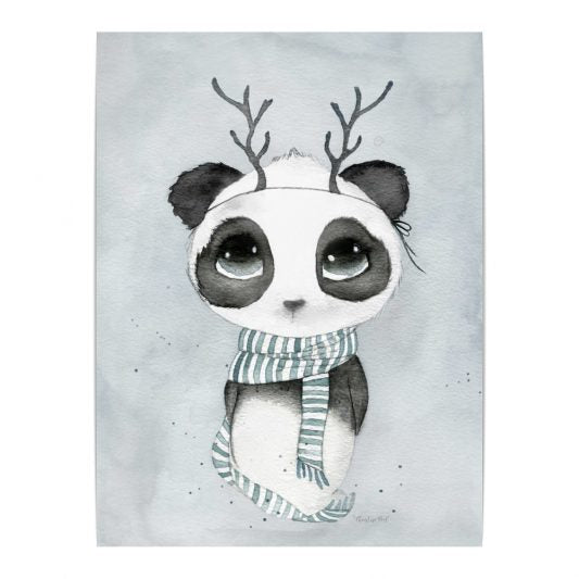 Panda Sigurd, Decor, By Christine Hoel - 3LittlePicks