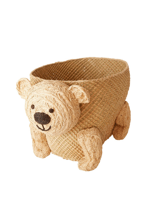 Bear Shape Seagrass Storage Basket