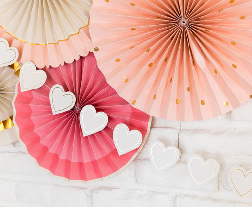 Bride To Be Heart Banner, Partyware, My Mind's Eye - 3LittlePicks