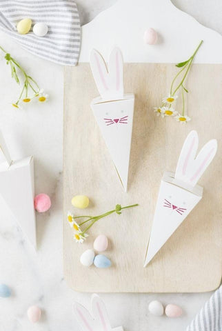 Bunny Hop Favor Boxes, Partyware, My Mind