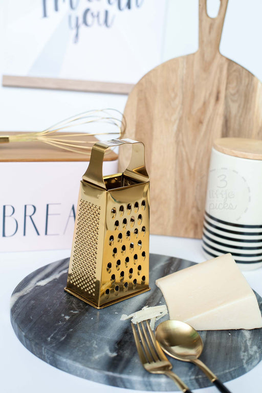 Golden Box Grater, Utensils, Bloomingville - 3LittlePicks