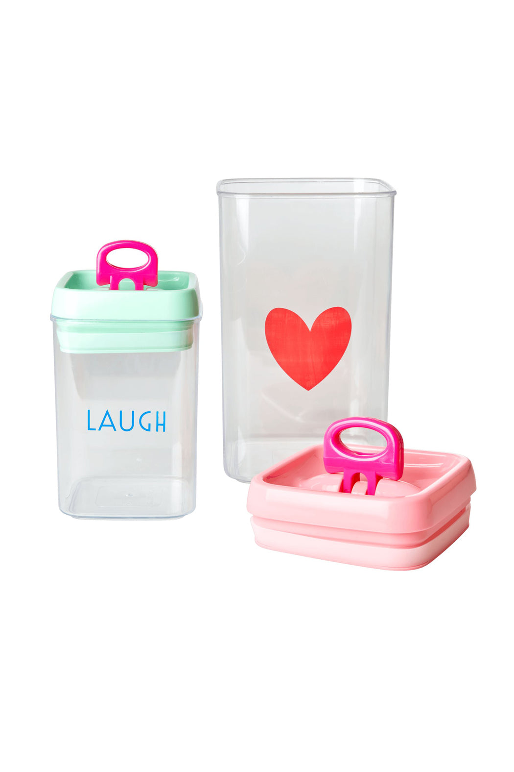 Choose Happy Food Storage Box Set