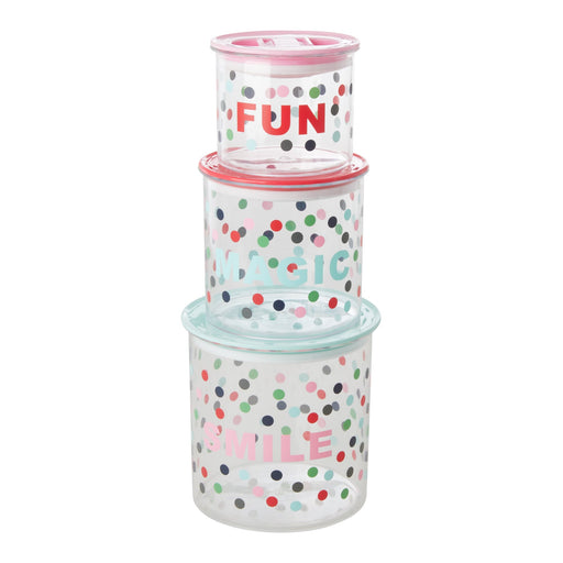 Happy Dots Food Storage Boxes