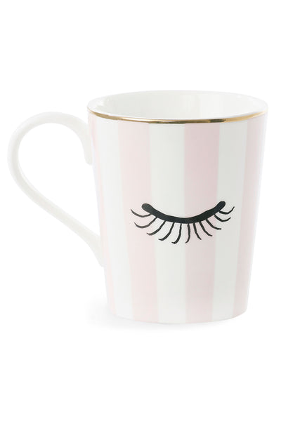 Eyes And Rose Stripe Mug
