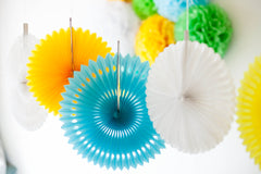 Paper Wheel Fan 25cm, Partyware, 3littlepicks - 3LittlePicks