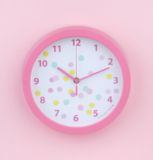 Confetti Wall Clock, Lifestyle, A Little Lovely Company - 3LittlePicks