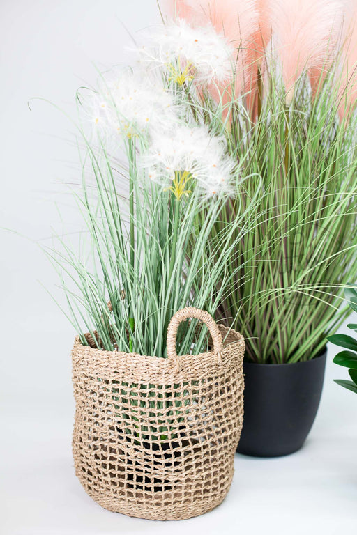 Artificial Potted Dandelion Grass, Decor, 3littlepicks - 3LittlePicks