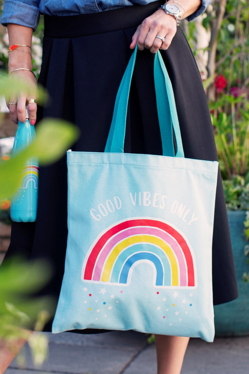Chasing Rainbows Tote Bag, Storage, Sass & Belle - 3LittlePicks