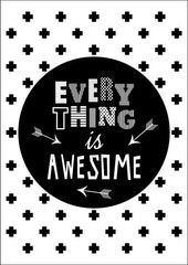 Everything Is Awesome, Decor, Ginger Monkey - 3LittlePicks
